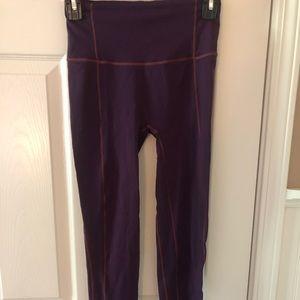 Purple high waisted lululemon leggings